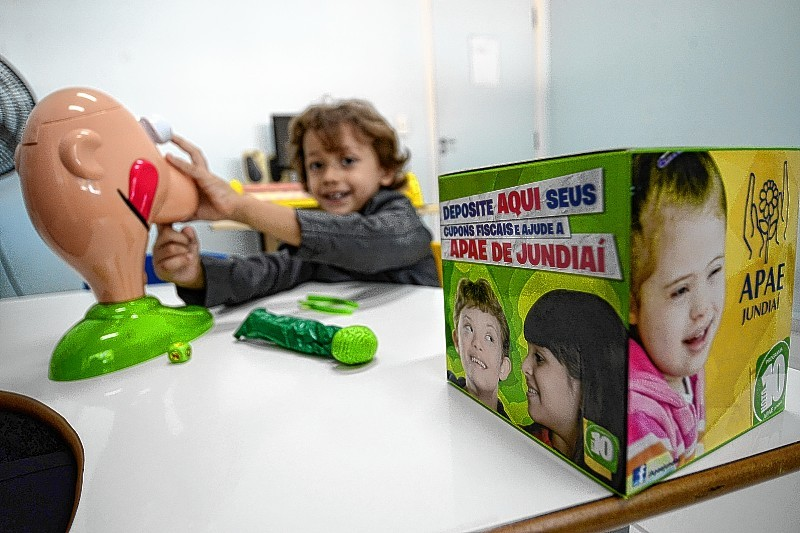 APAE de Jundiaí é contemplada no sorteio da Nota Fiscal Paulista