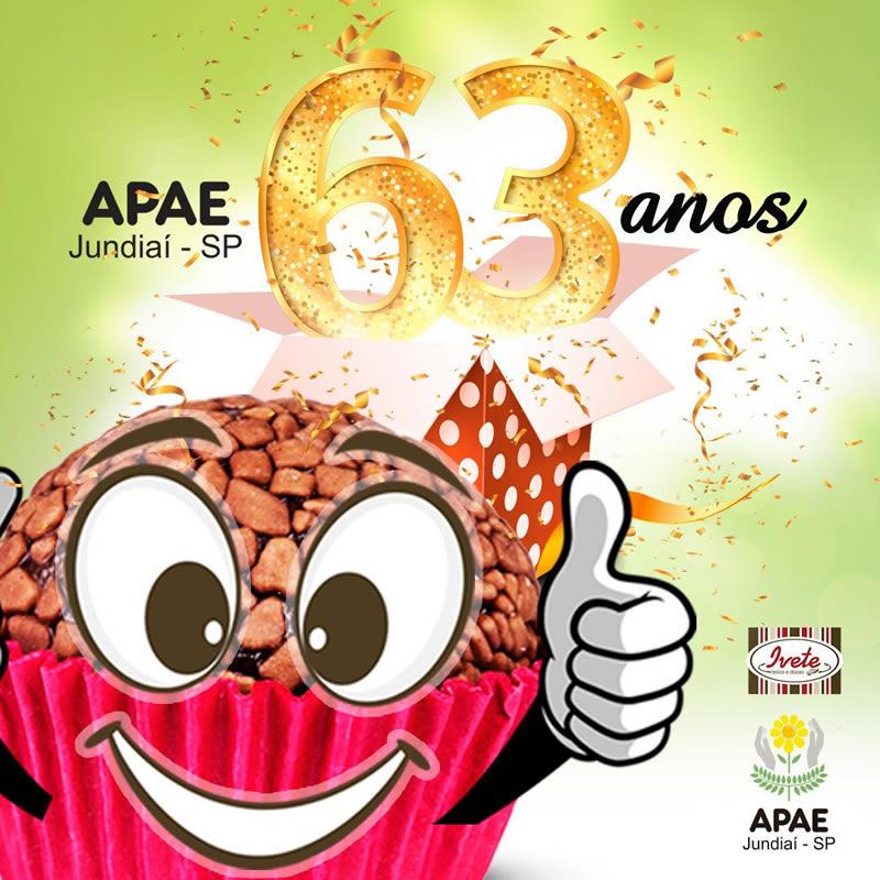Comemore o aniversário da APAE de Jundiaí com os brigadeiros da Ivete Bolos