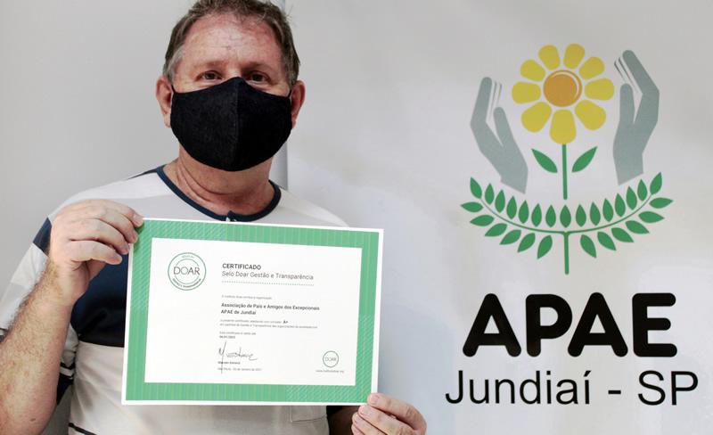 APAE de Jundiaí conquista Selo Doar de Gestão e Transparência