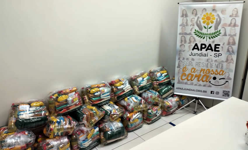 Rotary Jundiaí Oeste doa cestas básicas que vão beneficiar as famílias dos assistidos