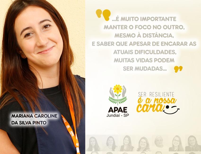 """""""Aqui, criamos vínculos muito fortes com todos"""", destaca a assistente social Mariana"""