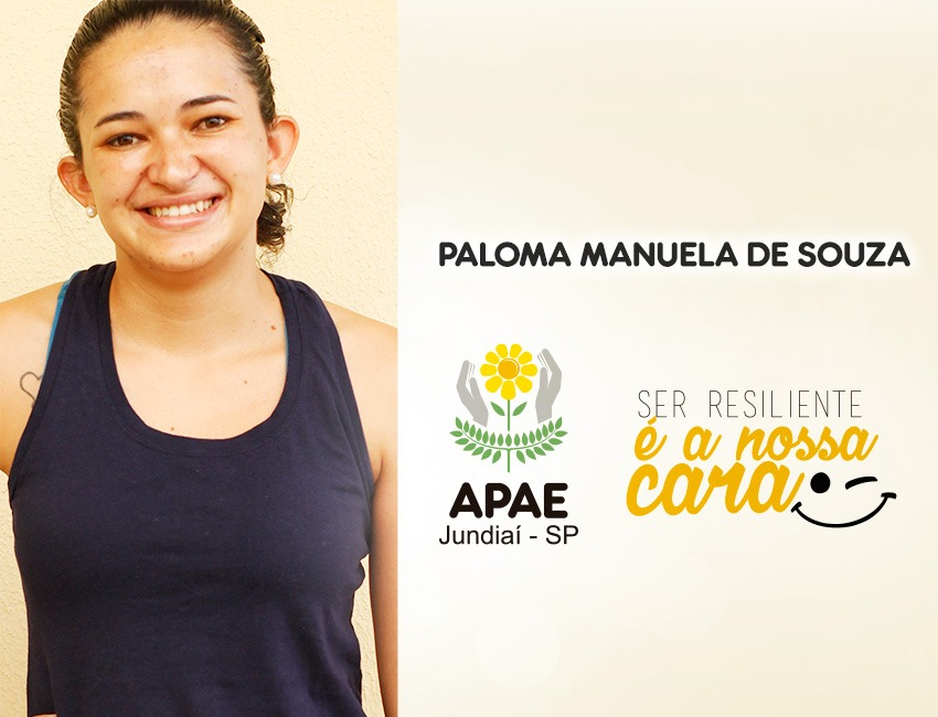 """""""A minha raiz é na APAE de Jundiaí"""", conta a professora Paloma"""